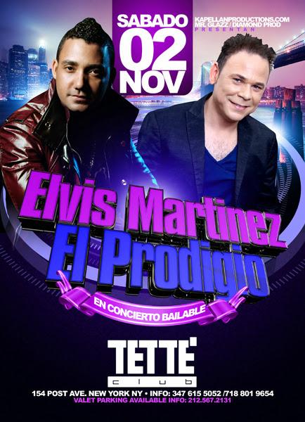 El Prodigio - Elvis Martinez - Tette Club
