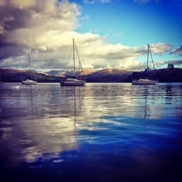 National Trust, View over Windermere from Claife