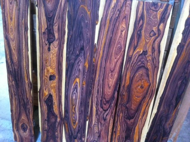 Tropical Exotic Hardwoods Highly Figured Cocobolo