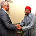 Photos: President Goodluck Jonathan visits Theophilus Danjuma