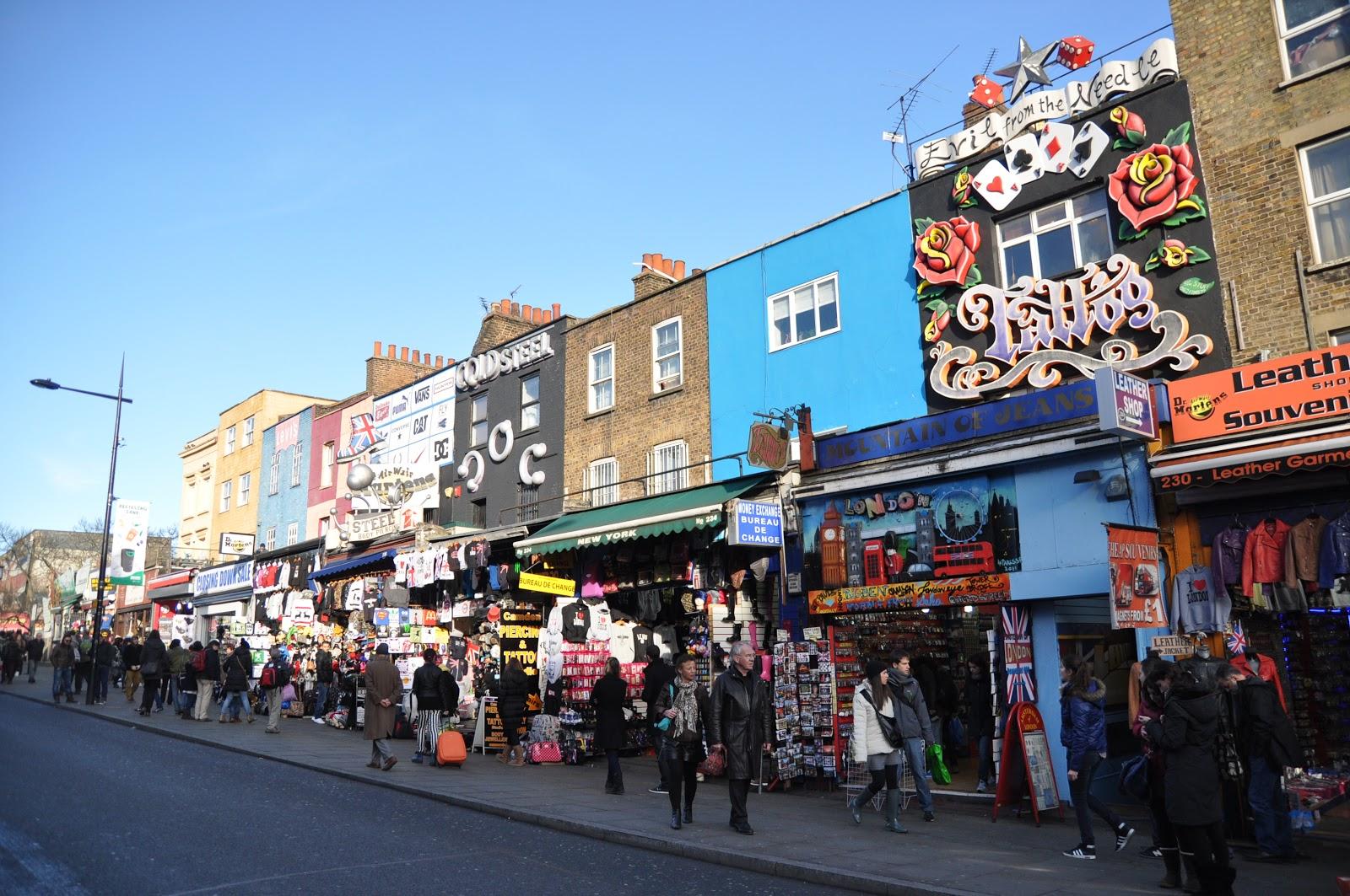 Camden Market - London\'s best market if you ask me