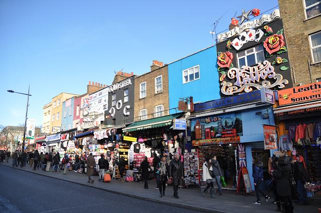 Camden Town Market Camden High Street