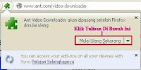 Ant Video Downloader Sukses Diinstal di Mozilla Firefox