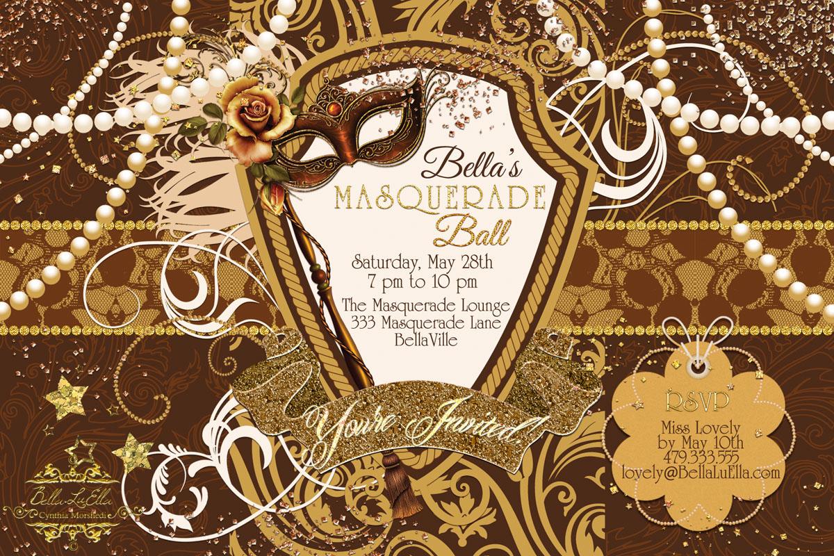 Bella LuElla: Masquerade Parties for Spring and Summer