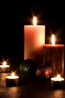 Candle Light Wallpaper