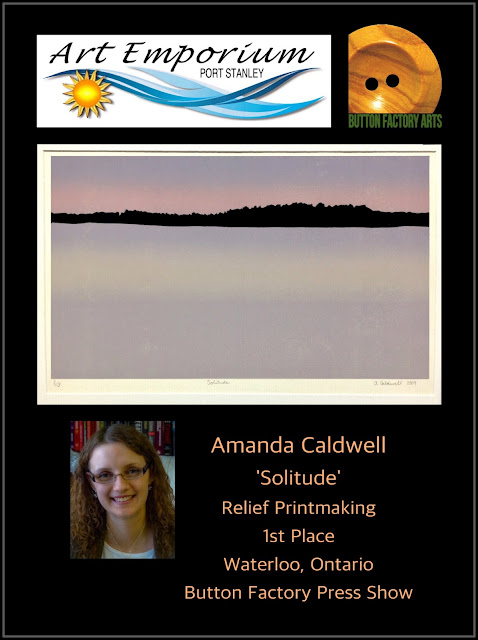relief printing, lino print, Amanda Caldwell