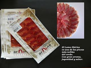 Lomo Ibérico bellota loncheado Ariñane