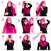 Tutorial Jilbab Modern Simple Harian