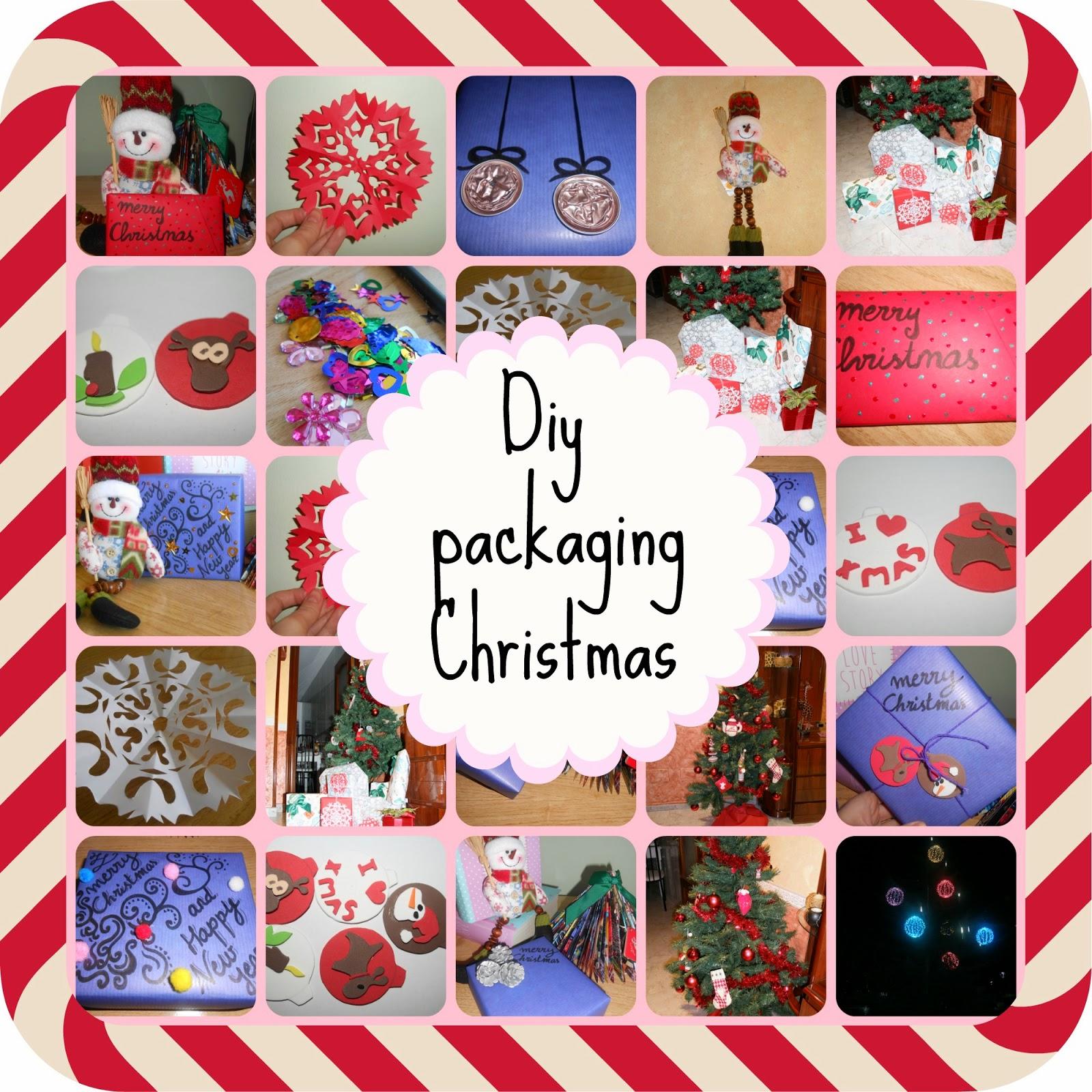 Diy 6 formas de empaquetado navide o - Empaquetado de regalos ...