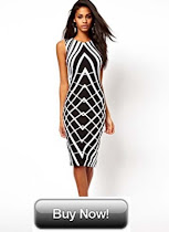 BLACK AND WHITE DRESS - £17.50 ONLY