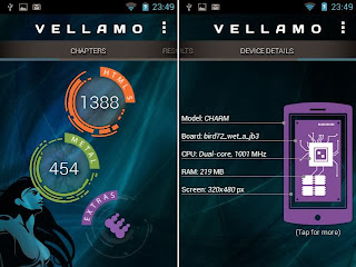 Vellamo, HTML 1388 & Metal 454