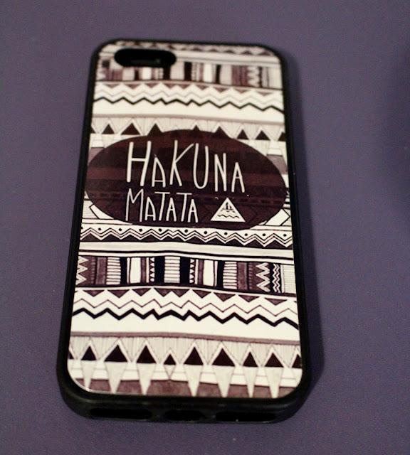 iPhone case Hakuna Matata