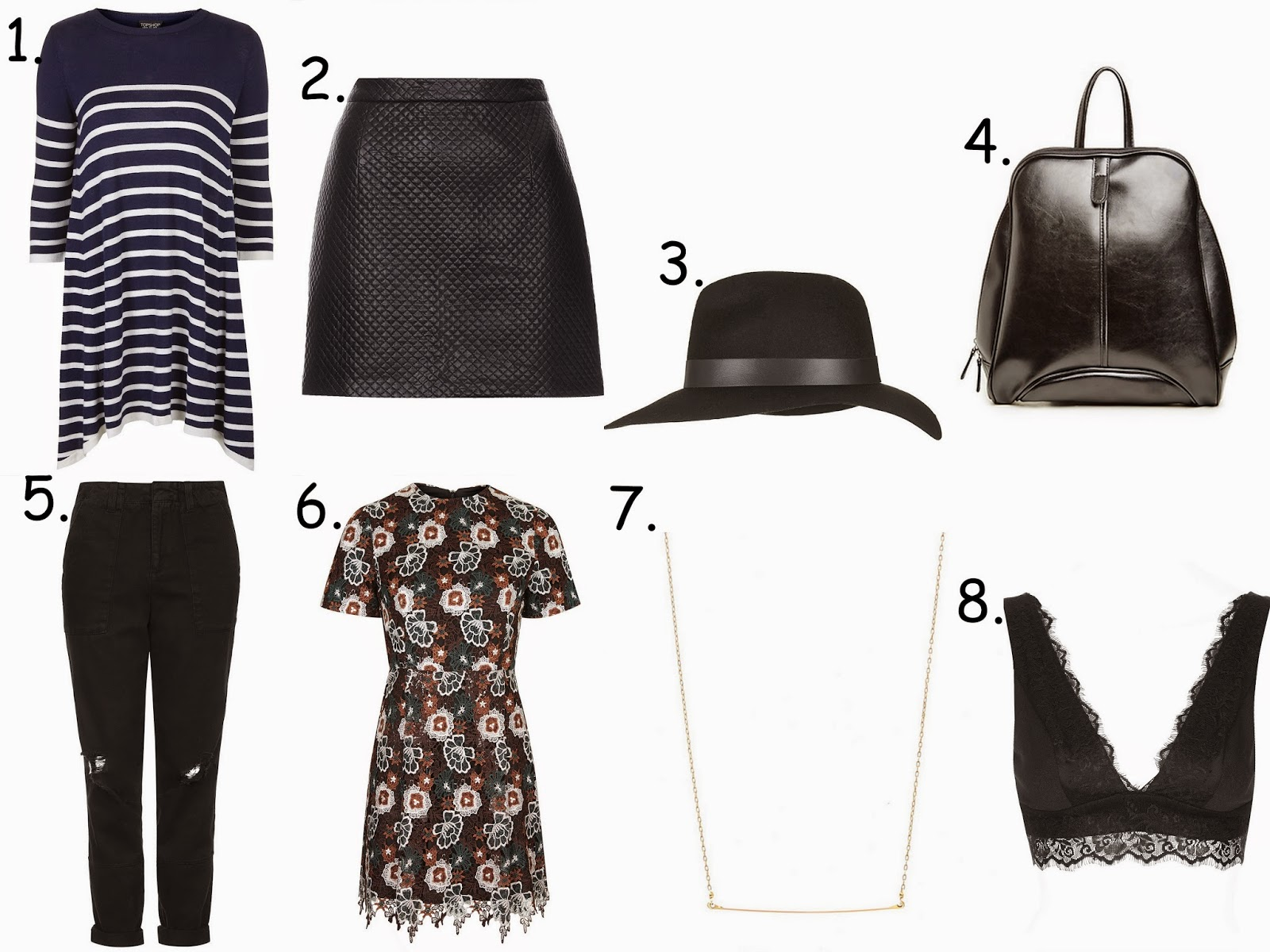 Wishlist // Topshop and more
