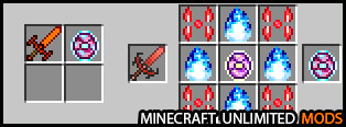 XtraCraft Mod craftings