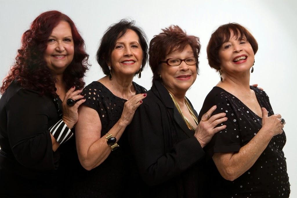 Quarteto em Cy - formado pelas baianas Cybele, Cynara e Cyva e a carioca Sonia Maria