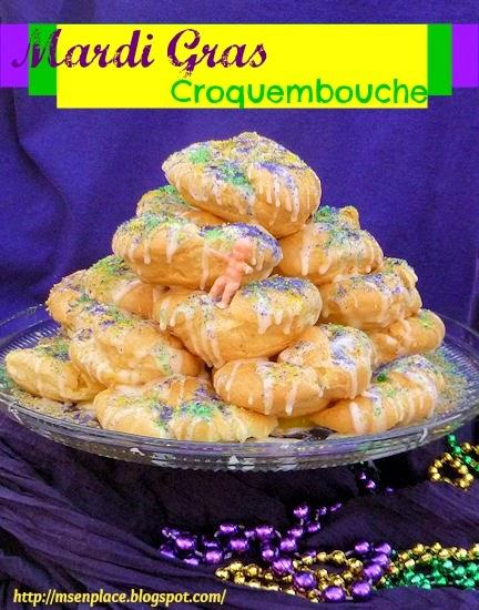 Mardi Gras Croquembouche | Ms. enPlace