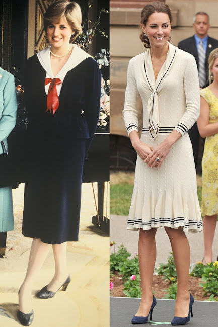 The Duchess of Cambridge is bound to draw comparisons to her husband's late mother, Diana, Princess of Wales.