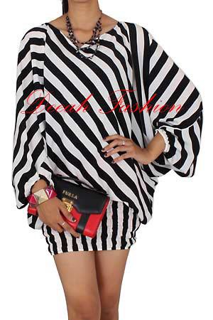 Trend Baju Motif Zebra