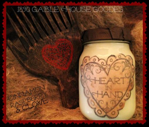 ~* 1890 Gable House Goodes Of Heart*~
