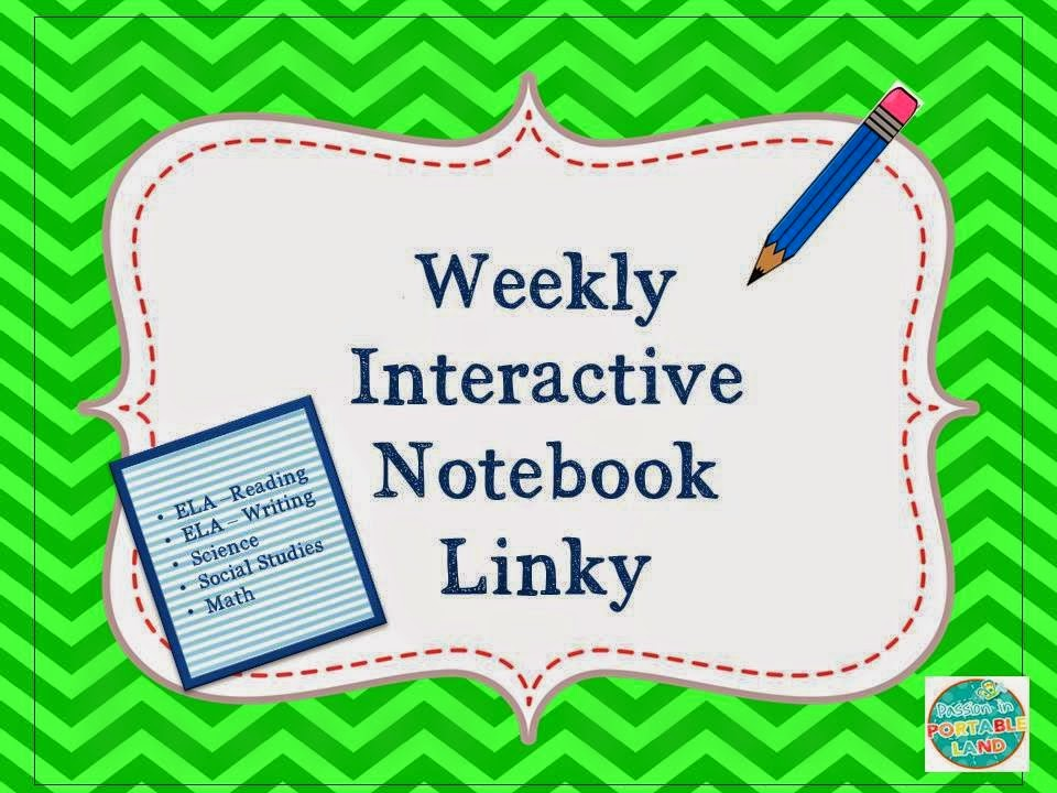 Interactive Notebook Linky