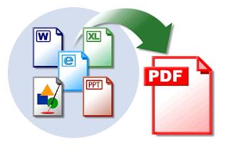 Convert Word, Excel, PPT, Webpages, Images to PDF