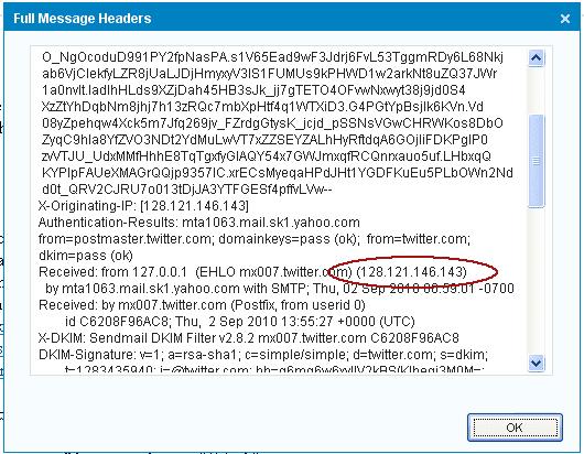 Melacak Lokasi Asli eMail Server dari IP Address-nya