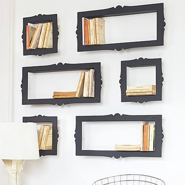 Los Mil Libros: 8 ideas para decorar usando los libros como cuadros