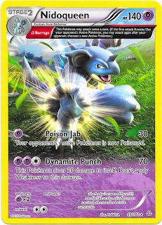 Nidoqueen Primal Clash Pokemon Card