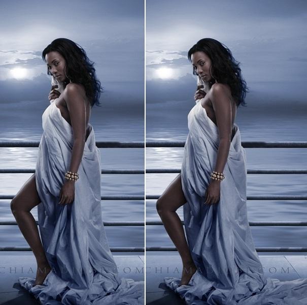 topless Nigerian actress Genevieve