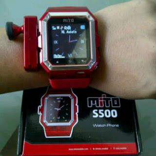 Harga dan Spesifikasi Mito S500 Ponsel Jam Tangan