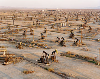 Burtynsky Oil Fields Oil Fields 19a