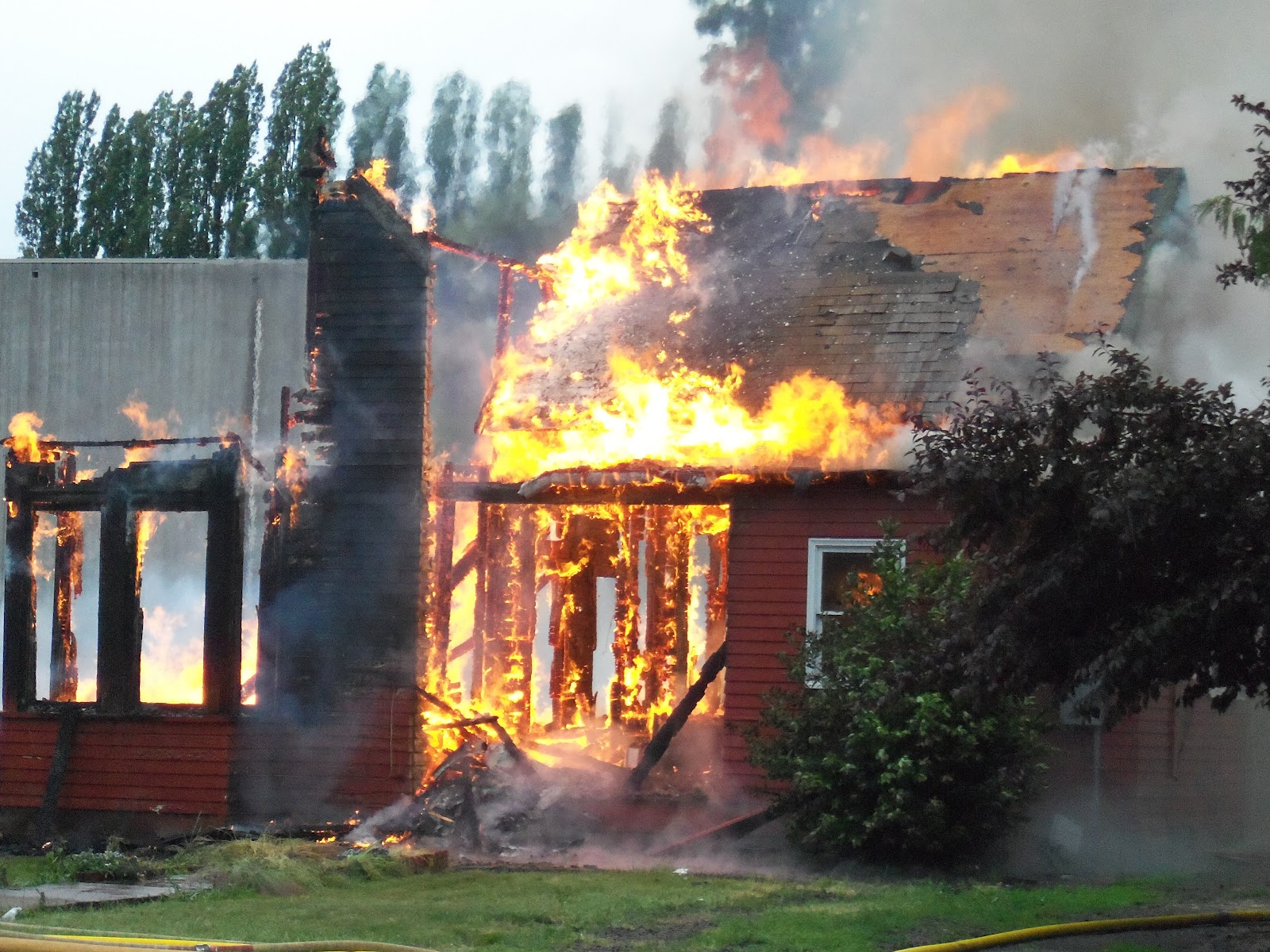 Forest Grove Backyard Burning :  In Blogland Forest Grove & Cornelius Fire Departments Training