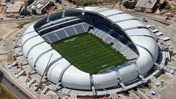 Lista de Todos los Estadios de Futbol para el Mundial Brasil 2014
