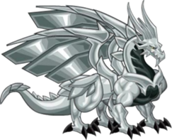 dragon metal adulto