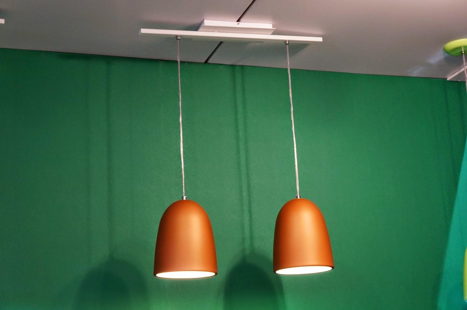 dupla de luminárias idênticas - Adimar Iluminação - Expolux 2014