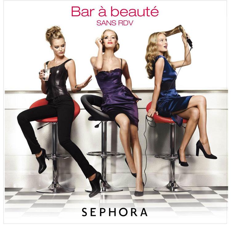 chez sephora tu as plusieurs bar beaut selon le magasin tu peux te faire faire les ongles te faire coiffer mme si je ne dis pas de btises - Prix Maquillage Mariage Sephora