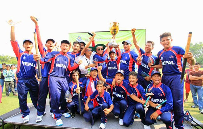 nepal won acc u -16 premier league in malaysia