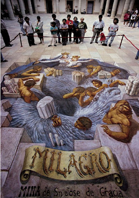 3d art street painting - kurt 3d art