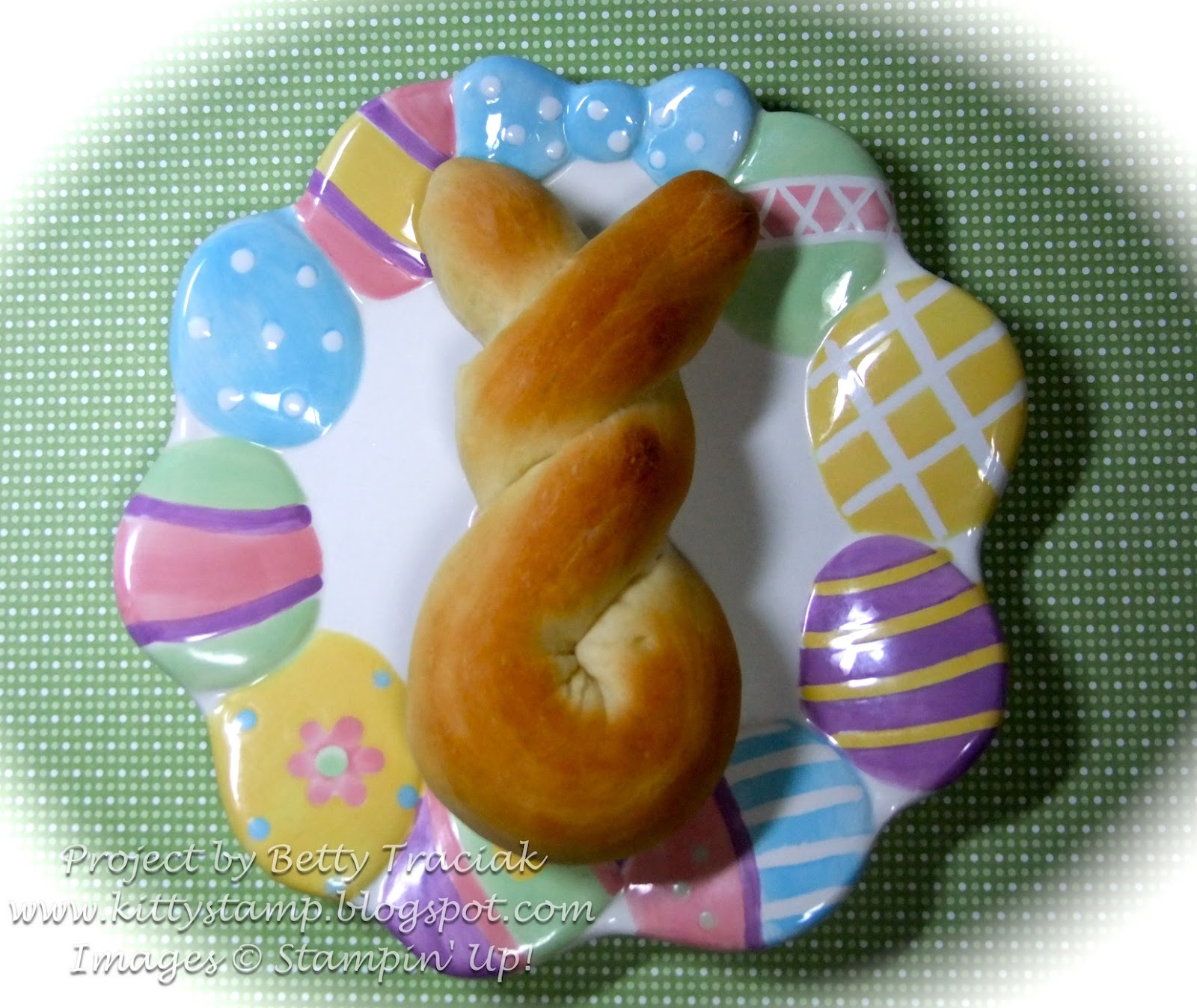 Kitty Stamp: Easter Bunny Bread Recipe MDS Page