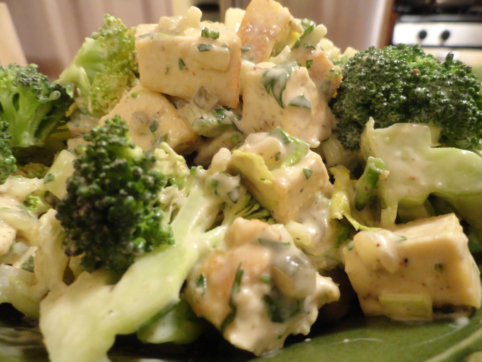 veganmofo ina garten and tofu chicken und brokkoli salat das v wort. Black Bedroom Furniture Sets. Home Design Ideas