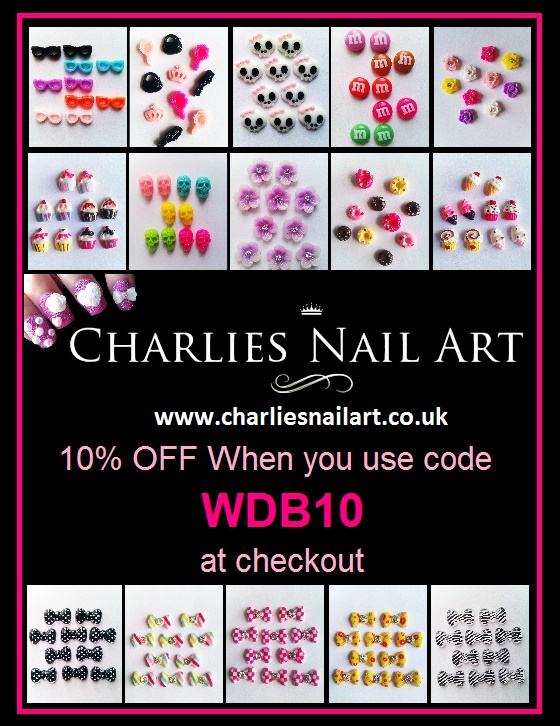 Charlies Nail Art - 10% Discount