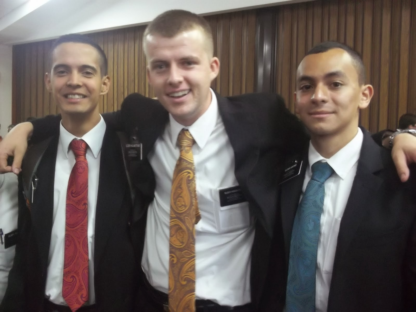Elder Haynie and Zone leaders