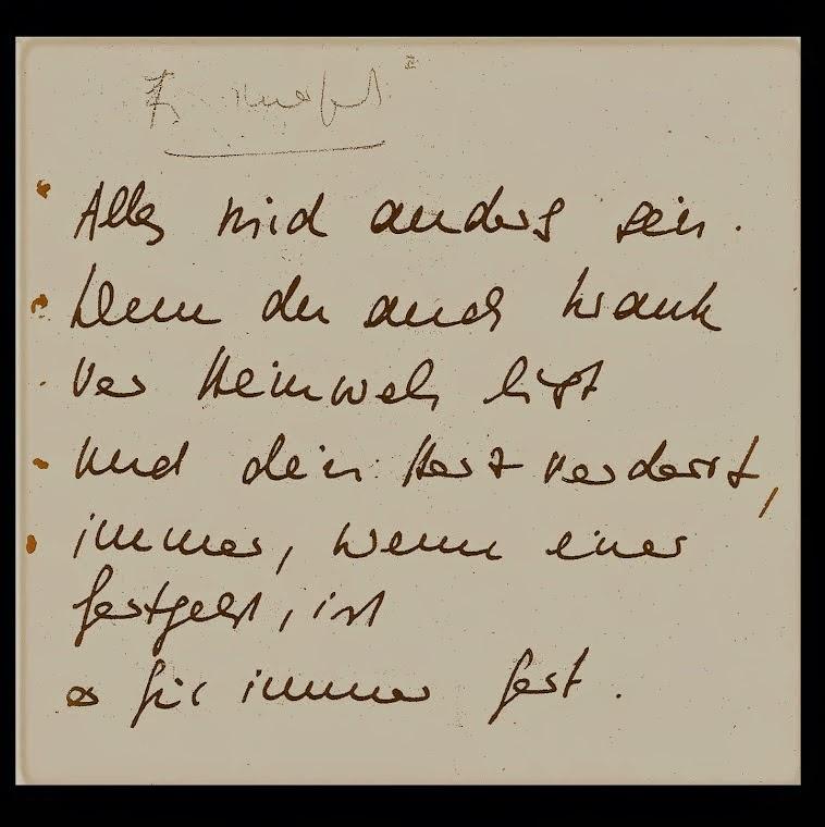 jeanne DEGEN gedicht FÜR IMMER FORT gedichtband AUFBRUCH 1985, nzz michael pfister bibliophilie