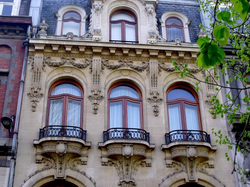 Connu Lille, l'art nouveau et l'art déco: Lille centre, rue Patou et rue  KS44