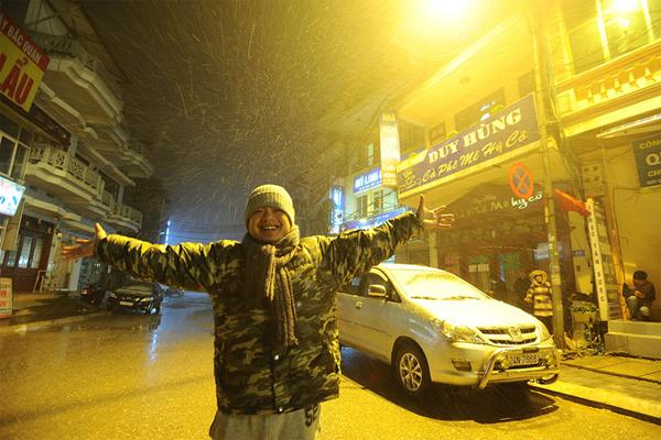 Cùng FPT Tân Hưởng Khoảnh Khắc Tuyết Rơi Ở Vùng Cao
