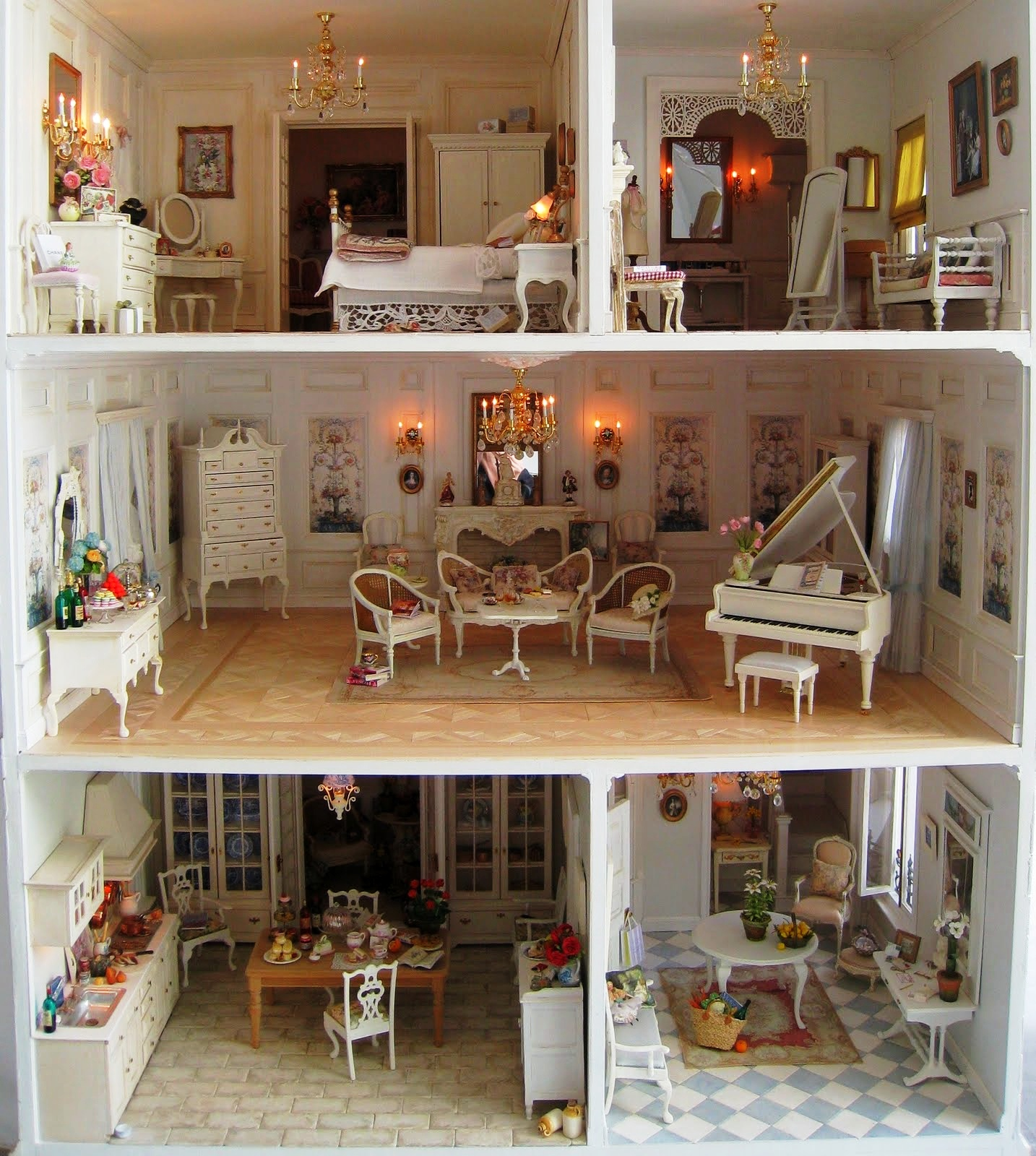 Кукольные дома своими руками мастер класс