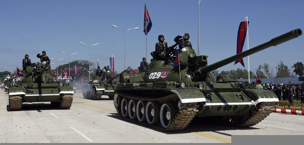 Cambodia's T-55AM2 tanks | World Military and Police Forces