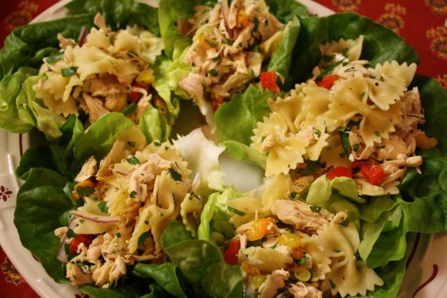 Campanelle pasta salad recipe giada