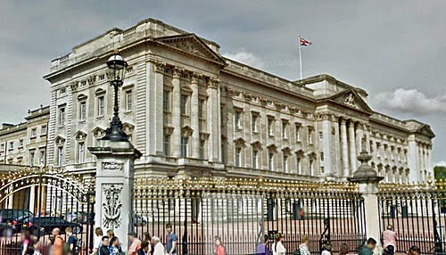 Buckingham Palace London.