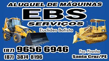 EBS SERVIÇOS - ALUGUEL DE MÁQUINAS